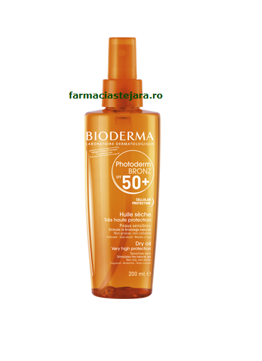 Bioderma Photoderm Bronz Spray-ulei SPF 50+ 200 ml