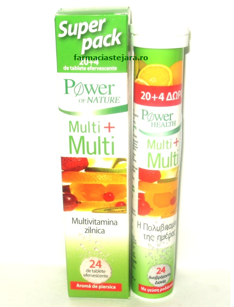 Multi+Multi Power of nature x 20 tablete efervescente