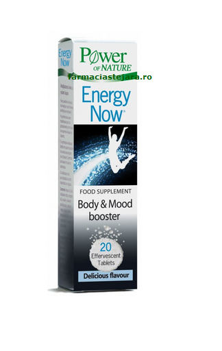 Energy now-Un plus de energie Power of naturex 20 tablete eferv