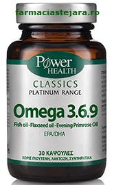 Omega 3 6 9 Power of nature Classics Platinum x 30 capsule