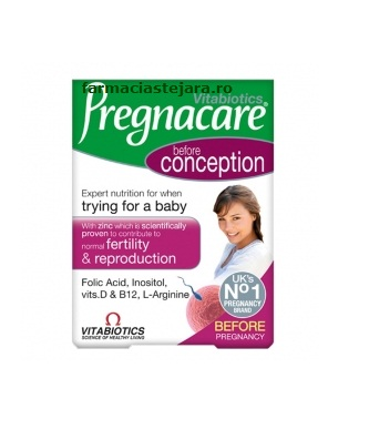 Vitabiotics Pregnacare Before conception x 30