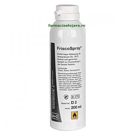 FriscoSpray Spray rece anestezic  local