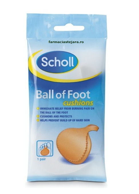 Scholl Pernite pentru bolta transversa Ball of Foot Cushion