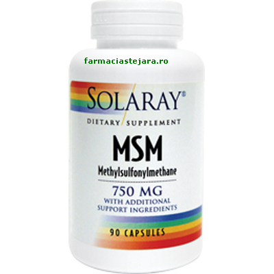 Solaray MSM 750 mg Capsule X 90