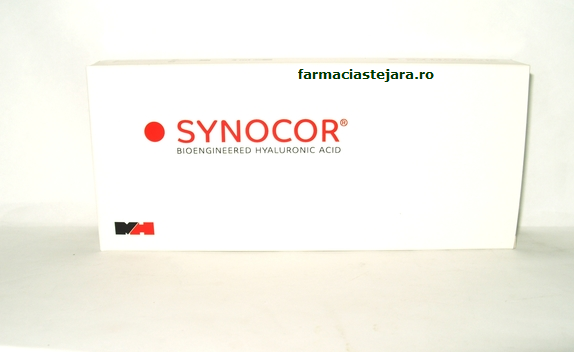 Synocor 1,6 %,16 mg/ml ,seringa cu administrare intraarticulara