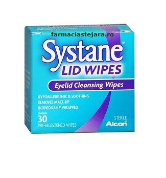 Systane Lid Wipes Servetele umede