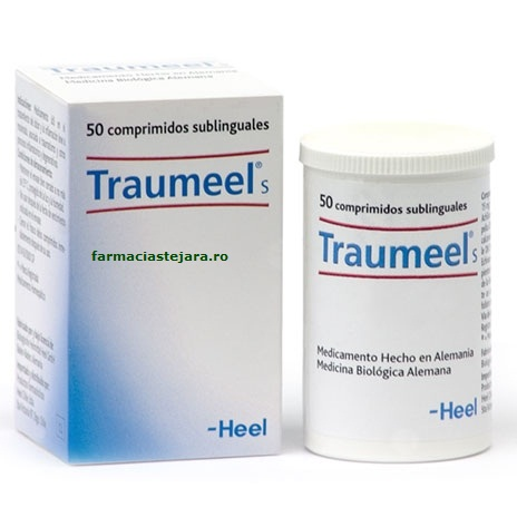 Traumeel S homeopat comprimate analgezice si antiinflamatoare X