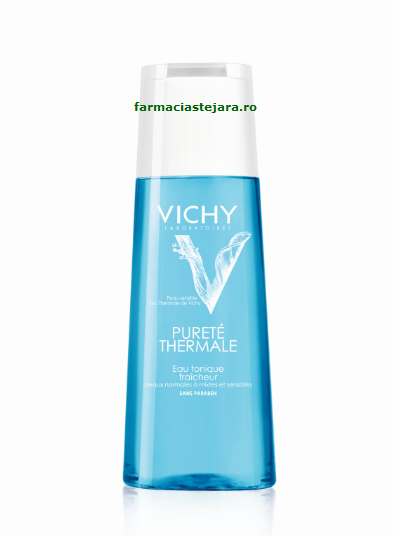 Vichy Purete Thermale lotiune tonica detoxifianta ten normal/mix
