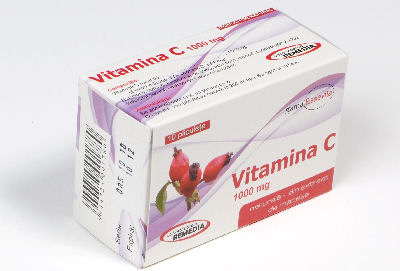 Lab.Remedia Vitamina C naturala 1000 mg plicuri X 10