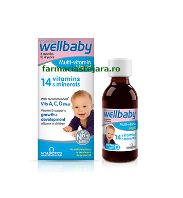 Vitabiotics WellBaby @ Infant sirop
