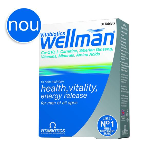 Vitabiotics WellMan X 30 tablete