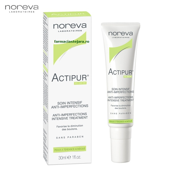Noreva Actipur Gel intensiv anti-imperfectiuni 30ml