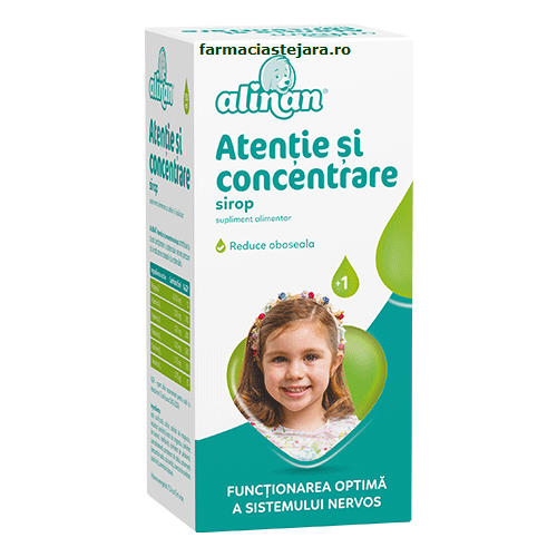 Fiterman Alinan Atentie si concentrare sirop 150 ml