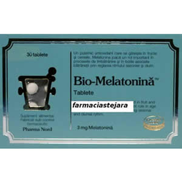 PharmaNord Bio-Melatonina comprimate X 30