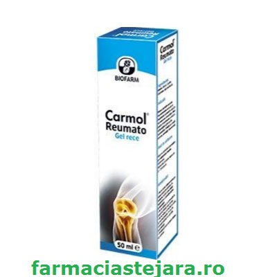 Carmol Reumato Gel rece antireumatic si antiinflamator 50ml