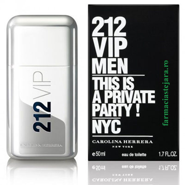Carolina Herrera 212 VIP Men Apa de toaleta 50ml