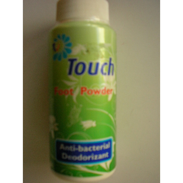 Touch Pudra de picioare anti-bacteriana 100 g