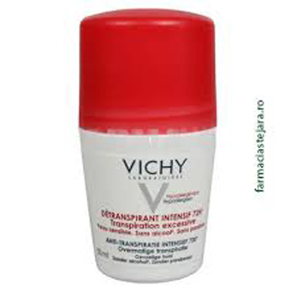 Vichy Anti-perspirant roll-on Stress Resist tratament intensiv