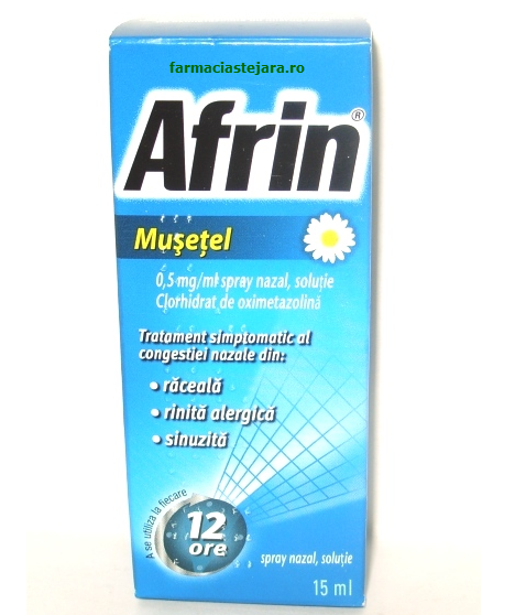 Afrin Musetel Spray nazal