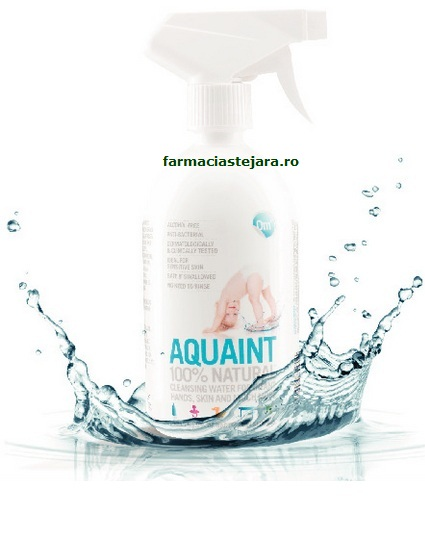Aquaint 100%Natural Apa dezinfectanta biberoane 500ml
