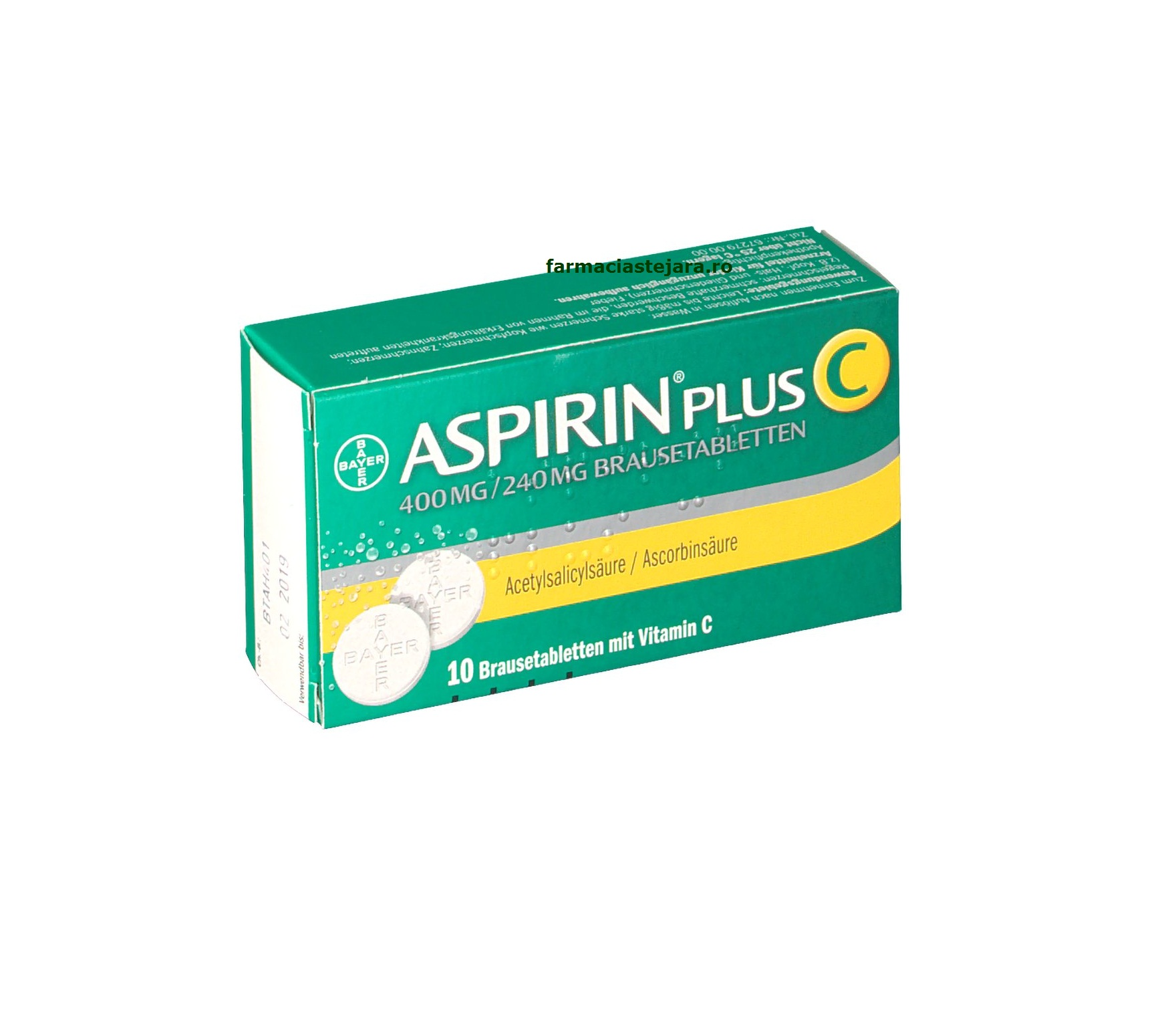 Bayer ASPIRIN PLUS C x 20 cp