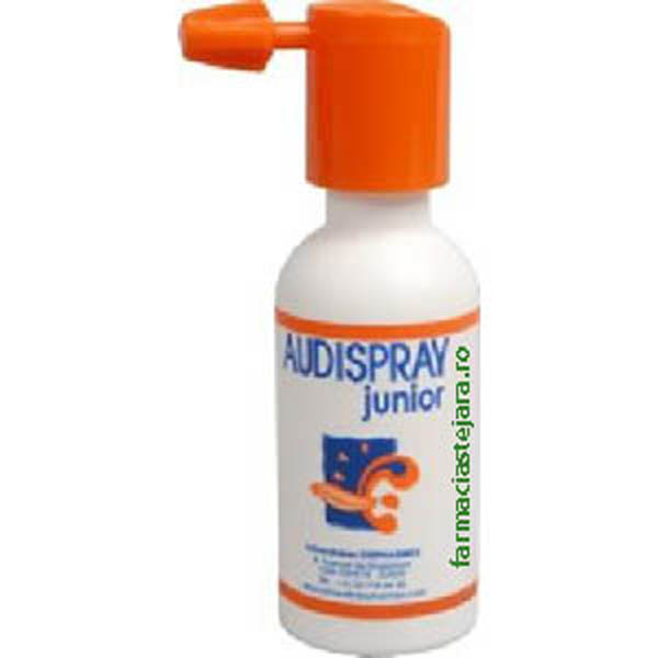 Audispray junior spray pentru urechi