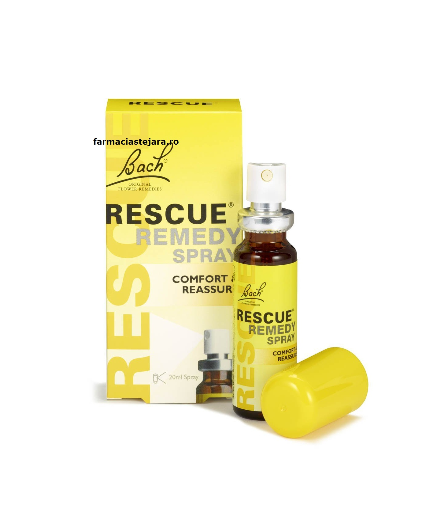 Bach Rescue Remedy-Remediul salvator pt.stres emotional spray 20