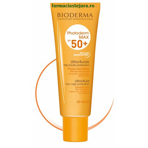 Bioderma Photoderm Max Aquafluide SPF 50+ incolor 40 ml