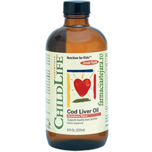 ChildLife  Cod Liver Oil  copii