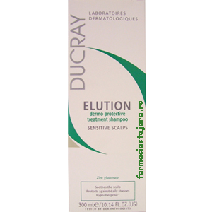 Ducray Elution sampon 300 ml