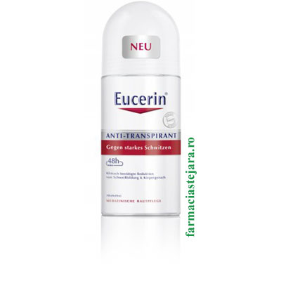 Eucerin Anti-Transpirant Deo Roll-on 48H