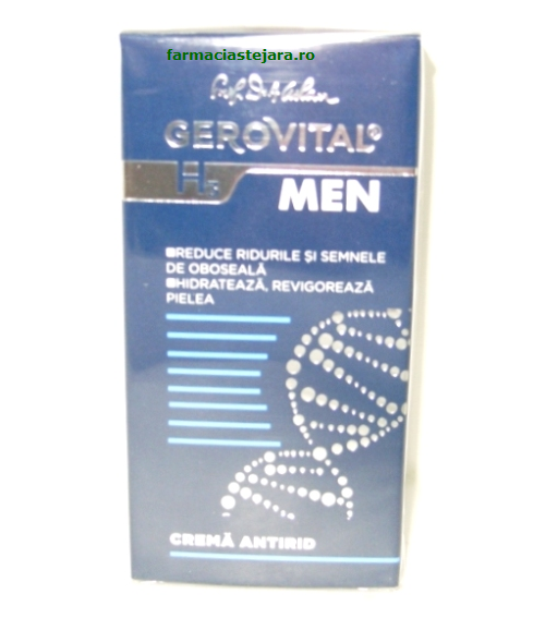 Farmec Gerovital H3 Men Crema antirid
