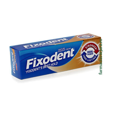 Fixodent Best Hold (Dual Power) adeziv proteza dentara