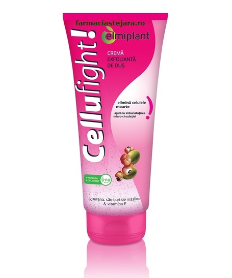 Elmiplant CelluFight Crema exfolianta de dus