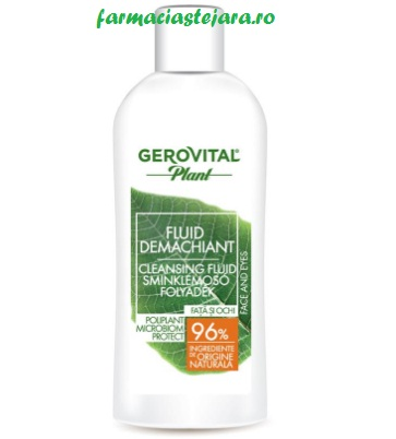 Gerovital Plant Fluid demachiant 150ml