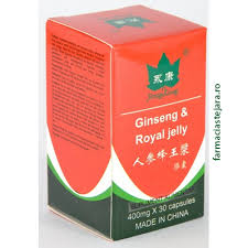 Ginseng + Royal Jelly  capsule
