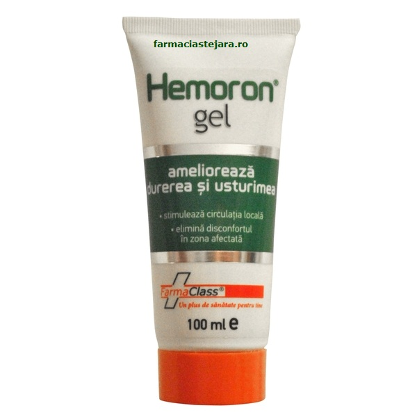 FarmaClass Hemoron gel anal contra hemoroizilor 100 ml