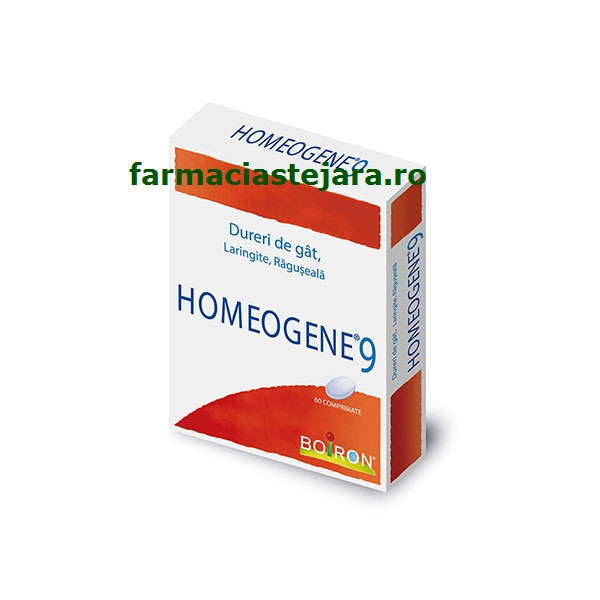 Homeogene 9 homeopat comprimate X 60