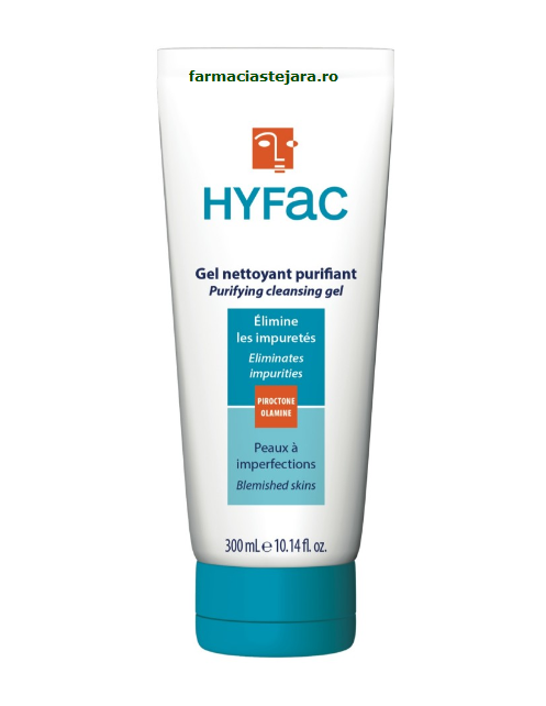Hyfac Gel de curatare purifiant cu clatire 300ml