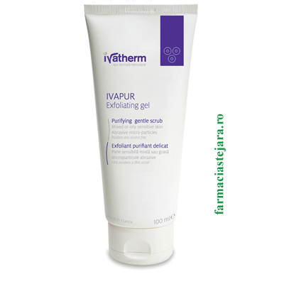 Ivatherm Ivapur Gel exfoliant 100 ml