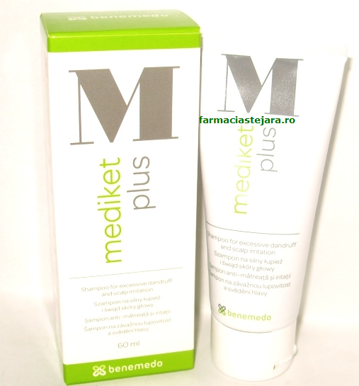 Mediket Plus sampon dermatologic 60ml