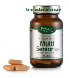 Multi Senior 50+ Power of nature Classics Platinumx 30 tablete