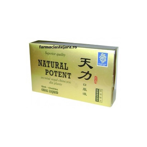 Natural Potent x 6 fiole buvabile