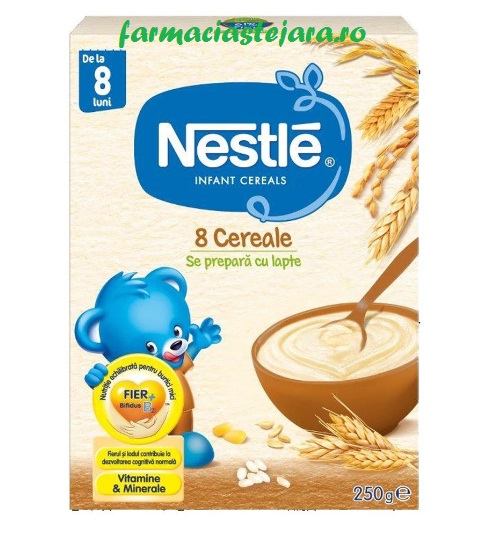 Nestle - 8 Cereale