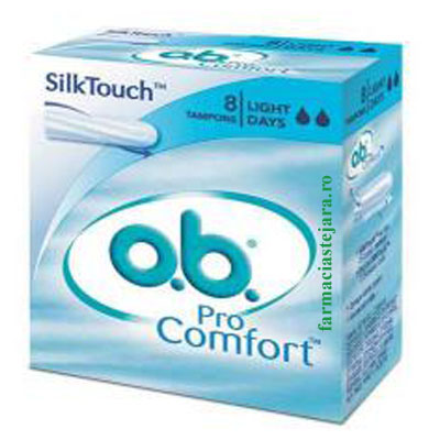 OB.Pro Comfort *8 Tampoane Light Flow