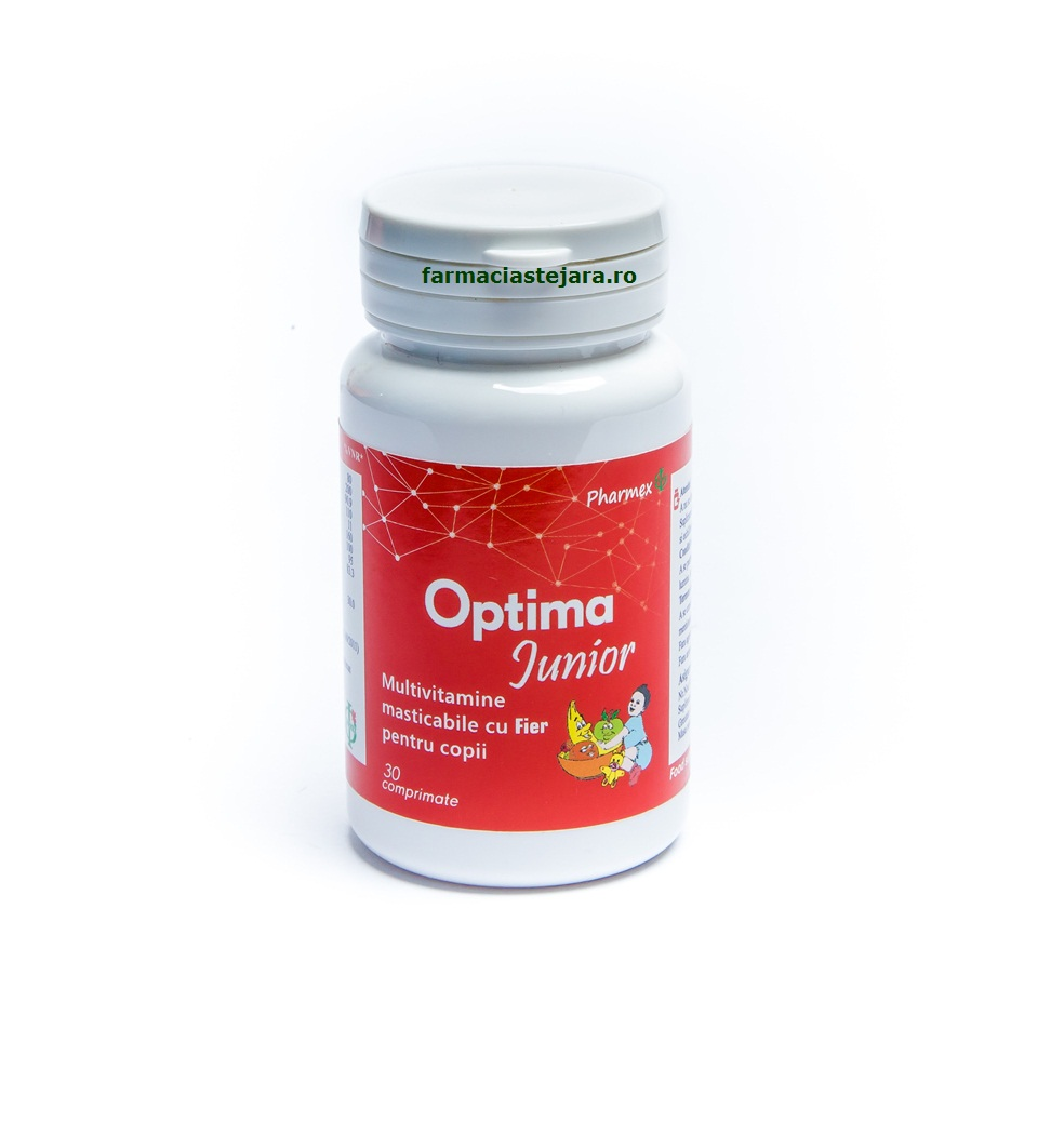 Pharmex Optima Junior Multivitamine + Fier