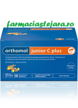 Orthomol Junior C PLUS tablete masticabile