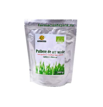 Orz verde Pulbere bio Phyto Biocare 200 g