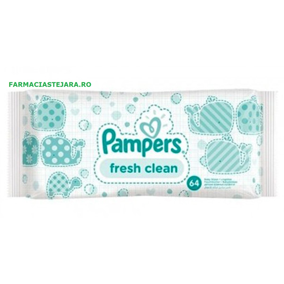 Pampers  Servetele  umede  baby  fresh X 64