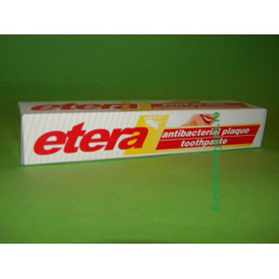 Etera Plant Pasta de dinti antiplaca bacteriana 75 ml